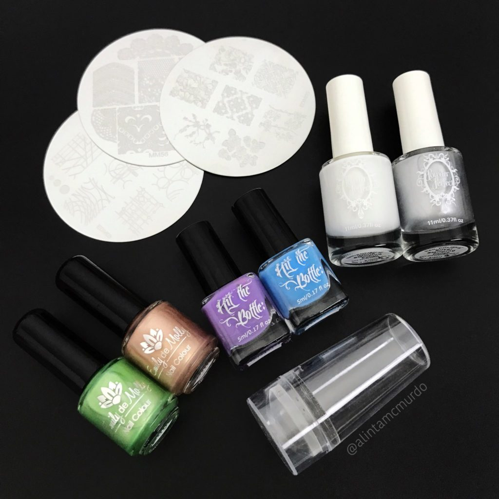 Australian Indie Stamping Nail Polish and Stamping Plates