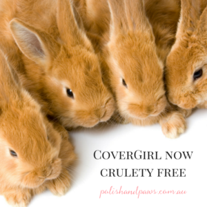 CoverGirl is now cruelty free